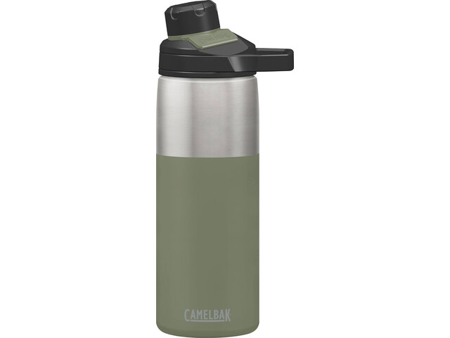 CamelBak Chute Mag Bouteille isotherme en inox 600ml, olive